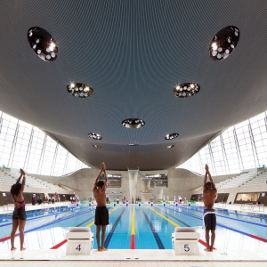 London Aquatics Centre. Fot. Luke Hayes.