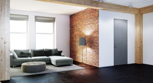 Drzwi wewnętrzne często określane są mianem aranżacyjnej kropki nad i. Choć ich zadaniem jest przede wszystkim dzielenie pomieszczeń, potrafią wpłynąć na wygląd całego salonu.