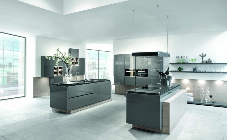 Kuchnia AV5090 GL Glass Modna kuchnia najpiękniej   -> Kuchnia Z Frontami Szklanymi