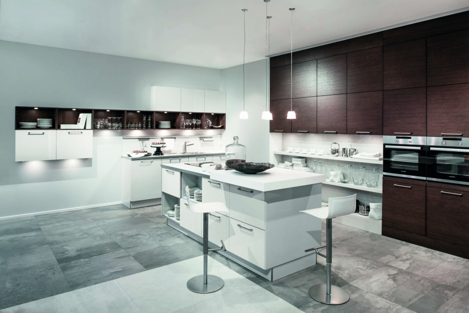 Kuchnia AV508 Funkcjonalna Modna kuchnia najpiękniej gotować na wyspie   -> Kuchnia Funkcjonalna Meble