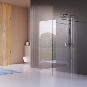 Łazienka - Wybór Roku 2016 - wyróżnienie w kategorii kabiny prysznicowe - kabina serii Walk In marka Actima, prod. Excellent