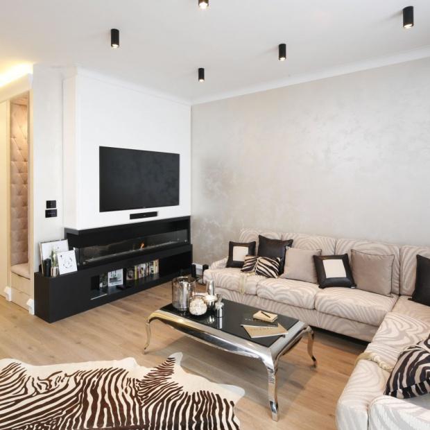 Apartament w stylu glamour: elegancki i piękny
