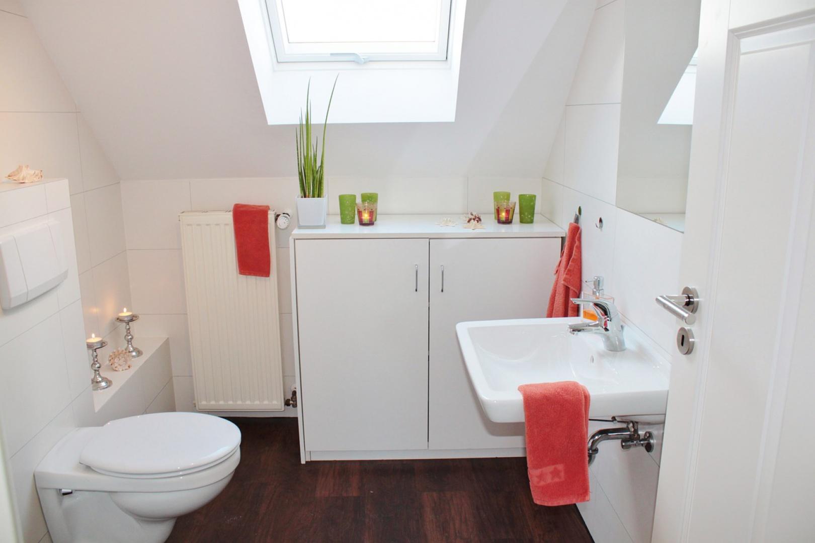 Aranżacja łazienki, fot. NOVA Technologie Obiektowe.