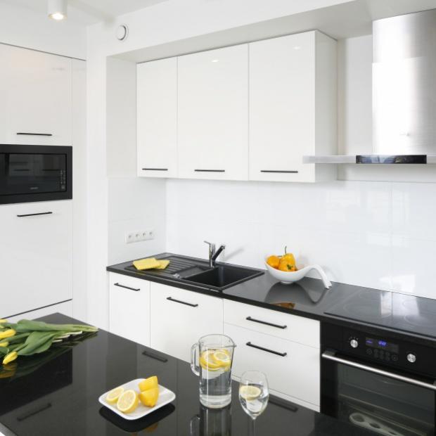Najlepsze projekty czarno-białych kuchni. Zobacz je wszystkie!