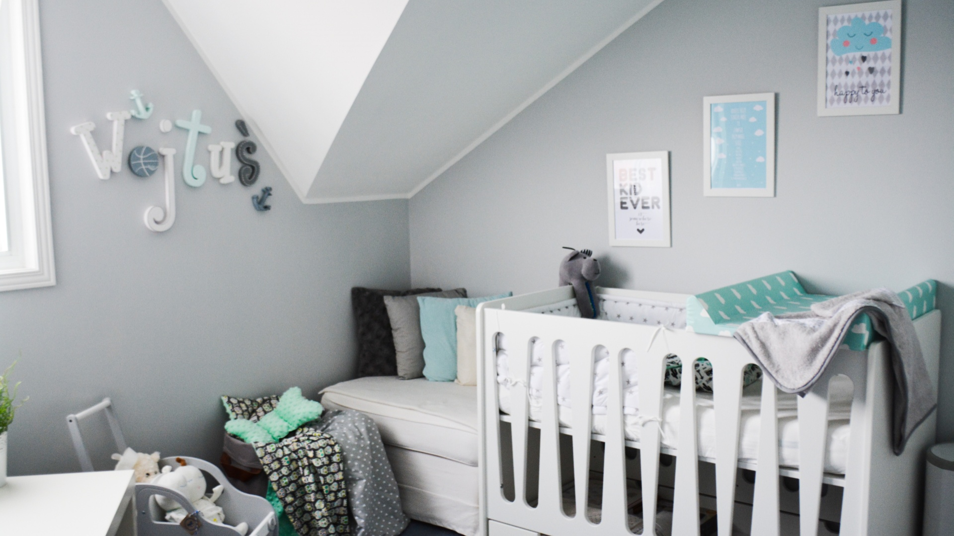 aran acja pokoju dla pomys na pok j dla niemowlaka propozycja dla ch opca. Black Bedroom Furniture Sets. Home Design Ideas