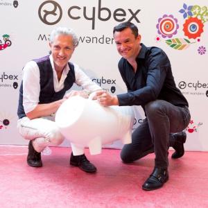 Marcel Wanders i założyciel Cybex Martin Pos.