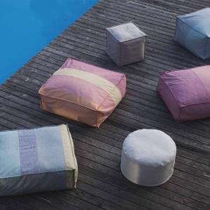 Kolorowe pufy - wiosenna nowość polskiej marki