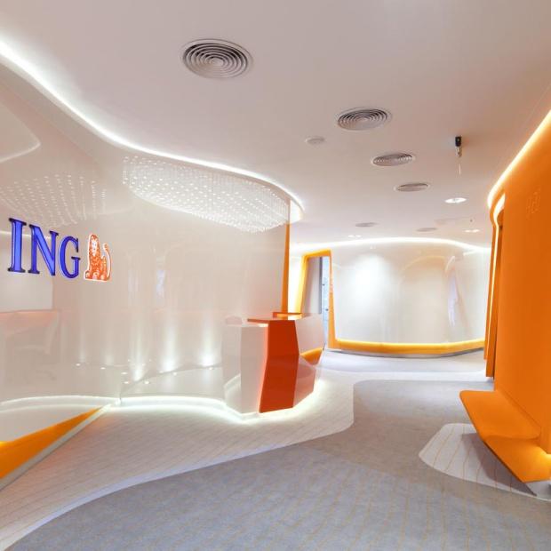 Wnętrze bankowości korporacyjnej – na wysokim poziomie