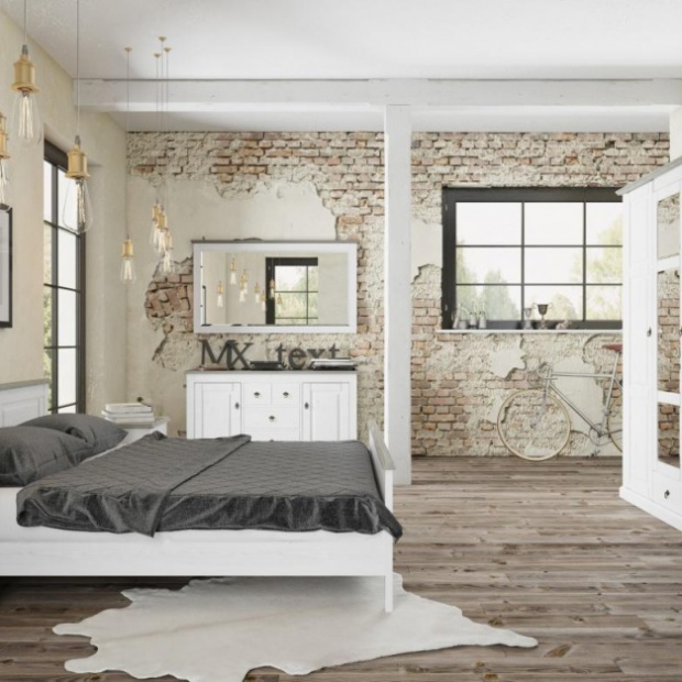 Modna sypialnia w skandynawskim stylu