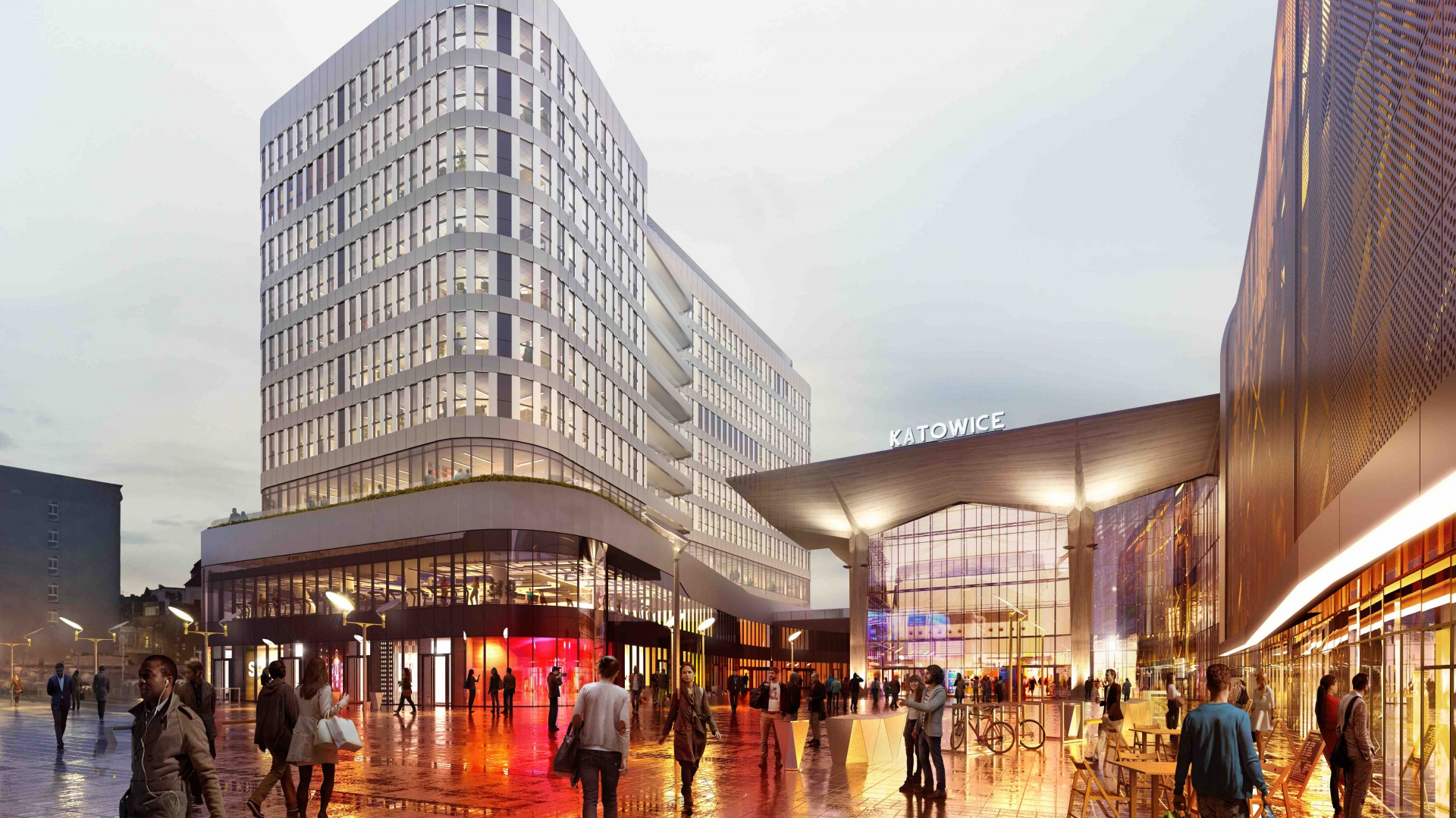Realizacją i komercjalizacją projektu, na zlecenie londyńskiego funduszu Meyer Bergman, zajmą się partnerzy posiadający duże doświadczenie w pracy przy projektach biurowych. Fot. Materiały prasowe