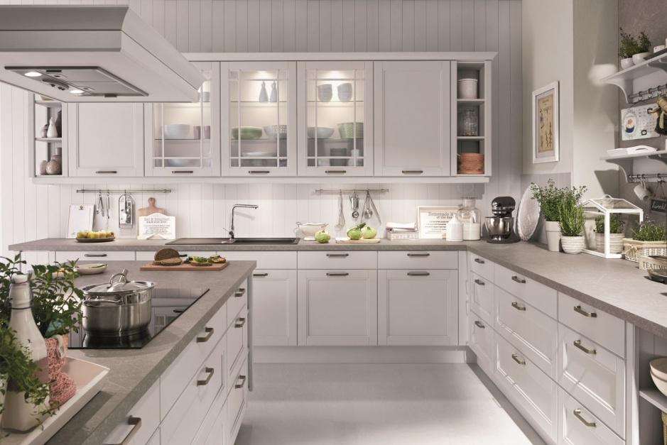 Frezowane fronty, 10 pomysłów na kuchnię w stylu