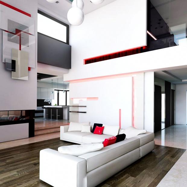 Salon w stylu nowoczesnym – tak się teraz projektuje wnętrza