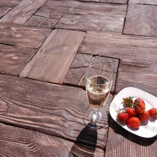 Betonowe drewno ogrodowe: system dekoracyjny Pino