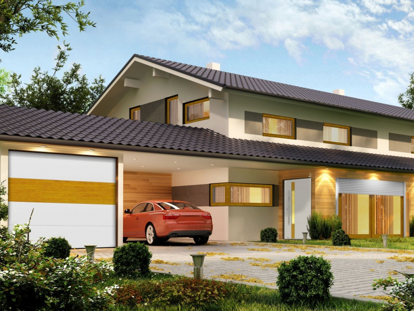 HarmonyLine to koncepcja wspólnego projektowania okien, drzwi, rolet i bram w ramach której stworzyliśmy 12 propozycji. Fot. DAKO