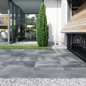 Gres Solid 2.0 w kolorze Beton dark grey Opoczno