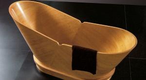 Wanna akrylowa czy metalowa? To pytanie dręczy wielu inwestorów. A może tak wybrać wannę wykonaną z drewna? Zobaczcie niesamowitą propozycję prosto z Włoch.