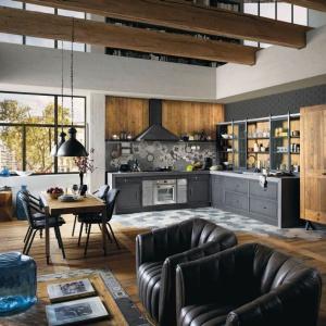 5 sposobów na kuchnię w stylu loft