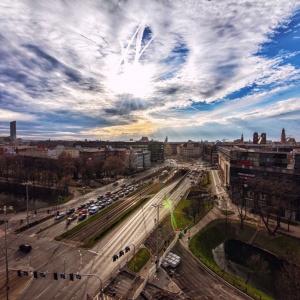 Piękna architektura Wrocławia