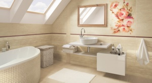 Jasne kolory zawsze mają moc powiększania pomieszczeń. Dlatego do małych łazienek tak chętnie są wybierane odcienie beżu. Kolor beżowy ma mnóstwo subtelnych tonów.