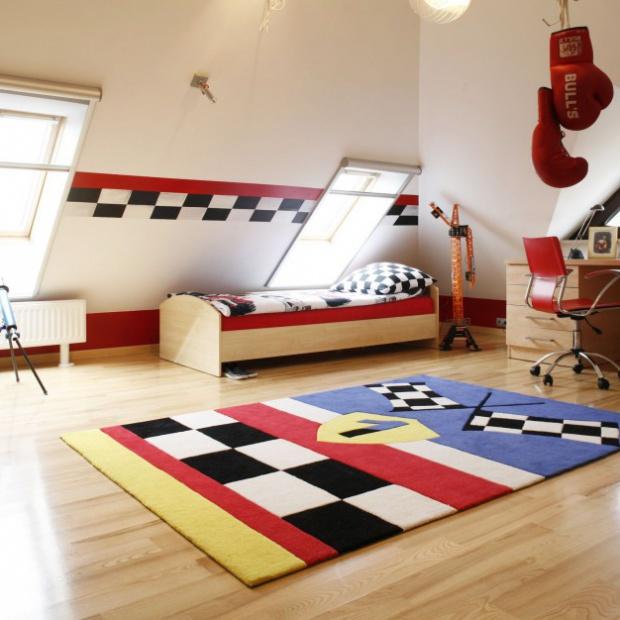 5 sposobów na kolorowy pokój małego alergika