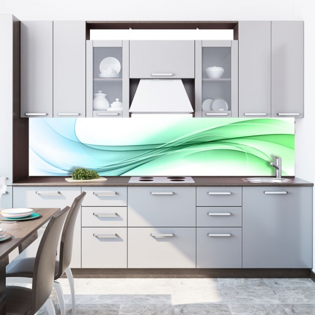 Chłodne kolory w kuchni: stwórz orzeźwiającą aranżację
