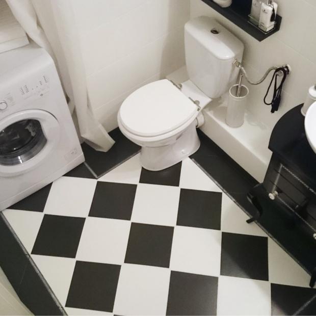 Metamorfoza łazienki w weekend - za mniej niż 1800 zł