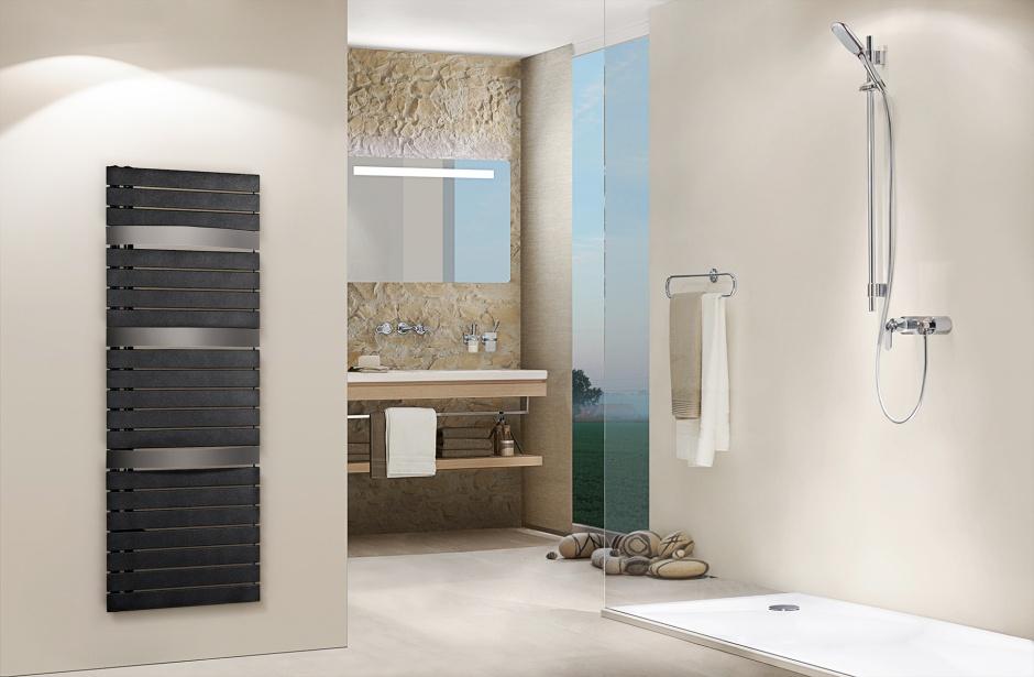 Grzejnik łazienkowy Evia. Fot. Purmo
