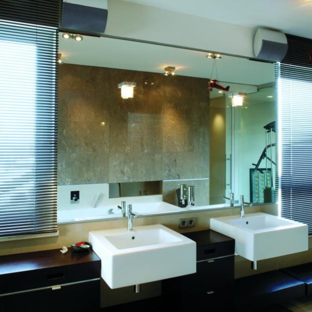 Projekt łazienki z siłownią