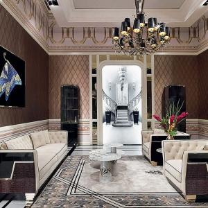 Styl glamour: eleganckie wnętrze pełne przepychu