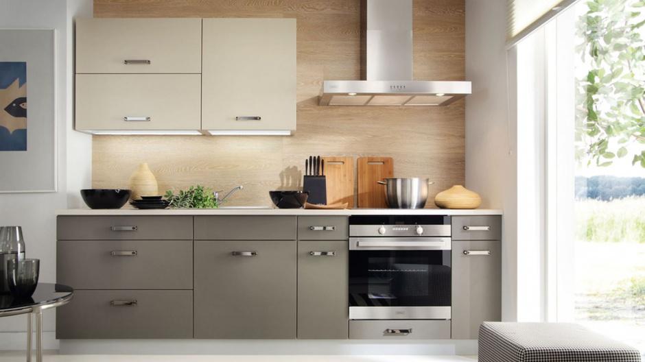 Kuchnia Tabes to połączenie Kuchnia w kolorze kawy z   -> Kuchnia Polysk Kawa Z Mlekiem