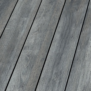 Matowe panele to nie tylko podłogi odzwierciedlające naturalny profil drewna – takie jak wspomniane już wcześniej – White Oak i Canyon Andiroba.  Fot. Ocean White Oak, Falquon
