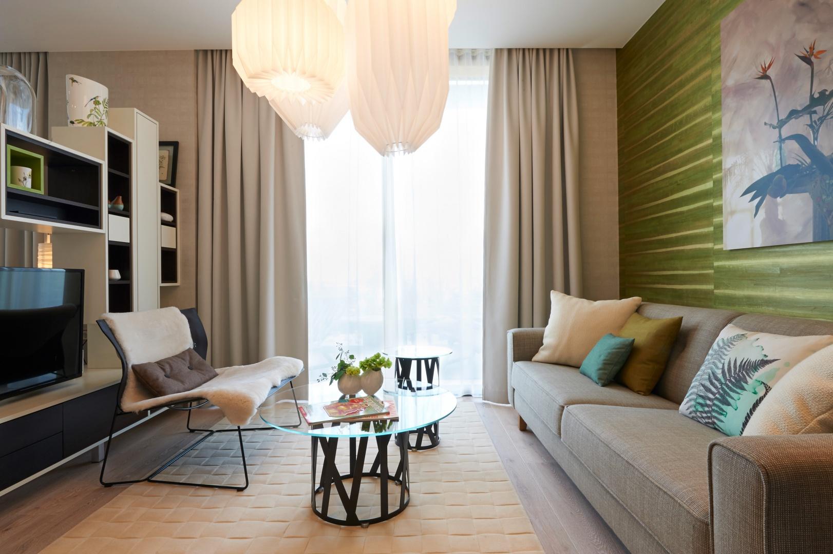Naturalne, subtelne barwy są kolorystyczną bazą dla aranżacji całego wnętrza. Projekt: JOI-Design. Fot. Villeroy & Boch