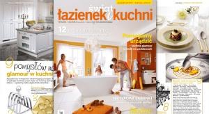 Ciekawe pomysły, porady, projekty kuchni oraz łazienek, modne rozwiązania można znaleźć w najnowszym wydaniu maj/czerwiecmagazynu Świat Łazienek i Kuchni. Zapraszamy do lektury!