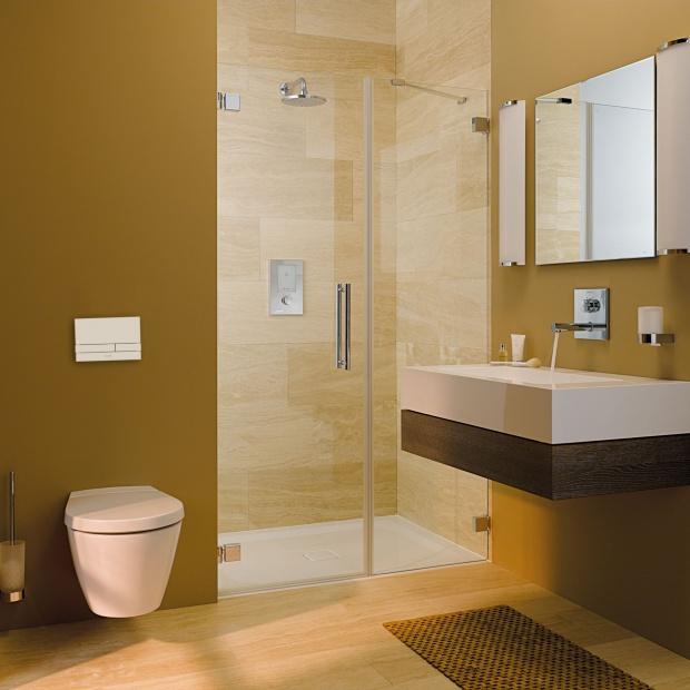 Trendy w urządzaniu łazienek: nowoczesna armatura