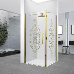 Styl retro w łazience: 9 pomysłów na kabinę prysznicową