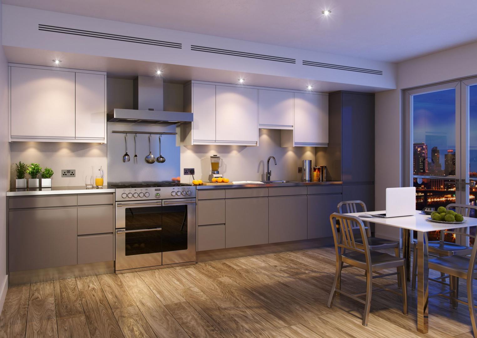 Nowoczesna kuchnia eleganckie AGD w stylu angielskim   -> Nowoczesna I Klasyczna Kuchnia