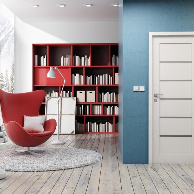 Modne drzwi wewnętrzne - postaw na biel