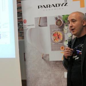 Przedstawiciel marki Archicad zaprezentował możliwości jakie projektantom wnętrz (i przedmiotów) daje oprogramowanie tej marki.