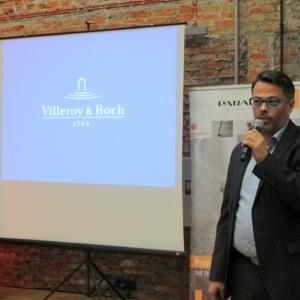 Jacek Kotula z firmy Villeroy & Boch, która była partnerem firmy Impero.