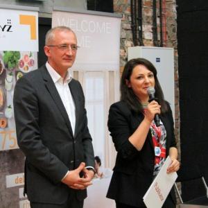 Gości przywitali Anna Raducha-Romanowicz (Łazienka) oraz Wojciech Bocheński (Impero).