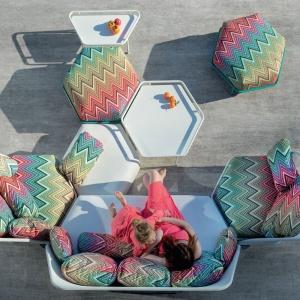 Piękny, modny ogród: zobaczcie designerską kolekcję mebli