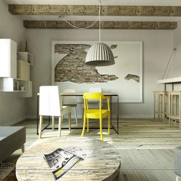 20 projektów wnętrz w stylu industrialnym