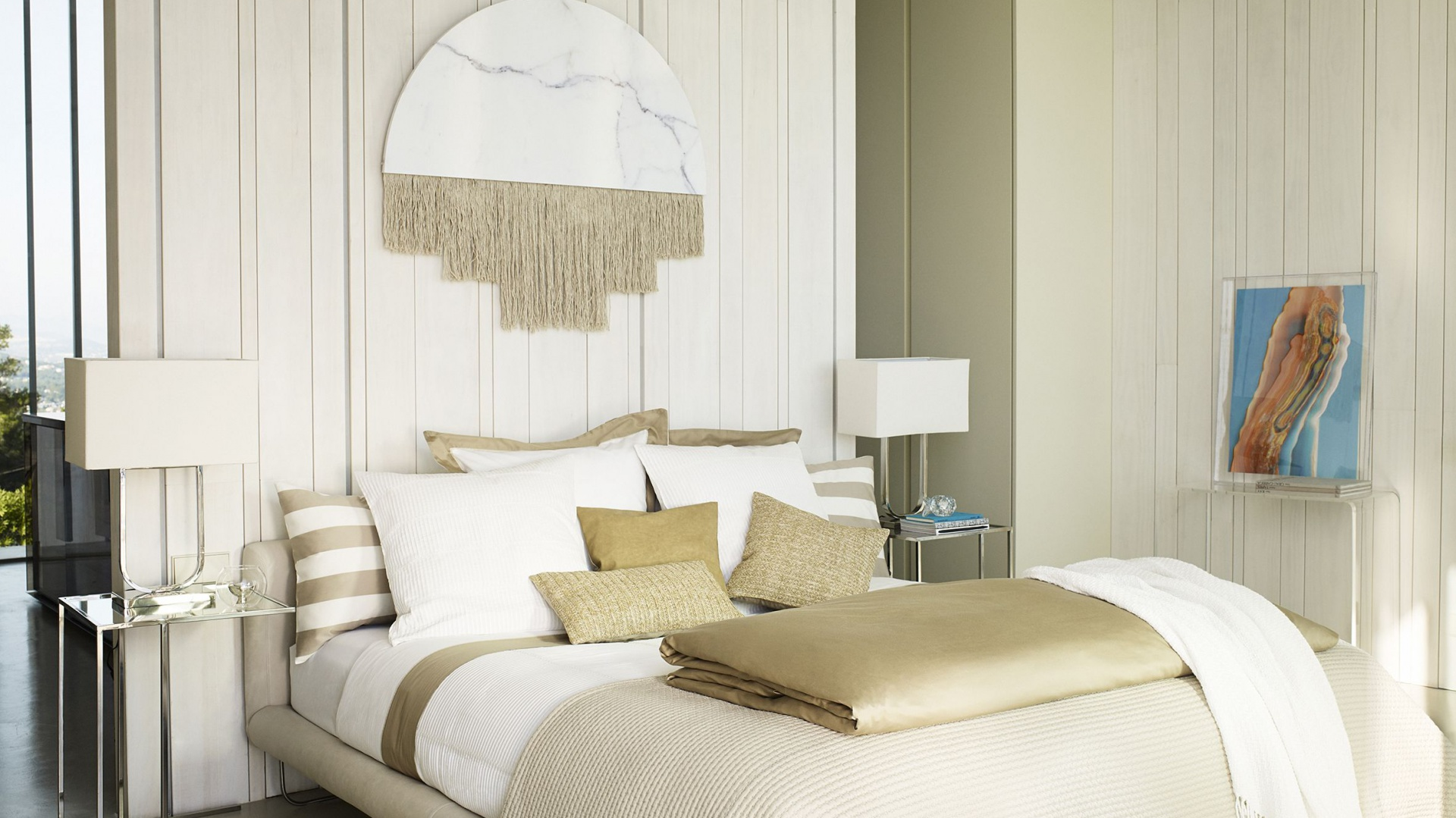 Sypialnia w stylu Miami. Fot. Zara Home