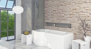 Gdy łazienka jest mała, często się rezygnuje się w niej z wanny na rzecz kabiny. Panel nawannowy to rozwiązanie 2w1, czyli wanna z prysznicem.