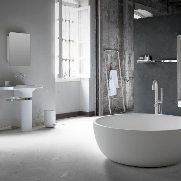Łazienka w stylu loft - zobacz modne wyposażenie