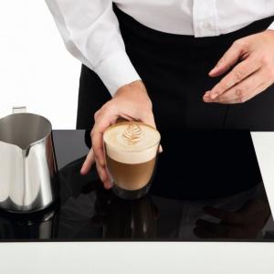 Piękny liść na kawie gotowy! Fot. Philips