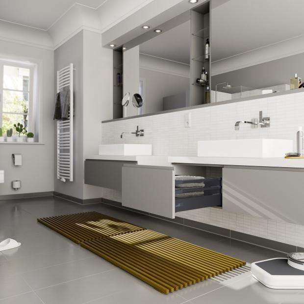 Porządek w łazience: postaw na nowoczesne szuflady