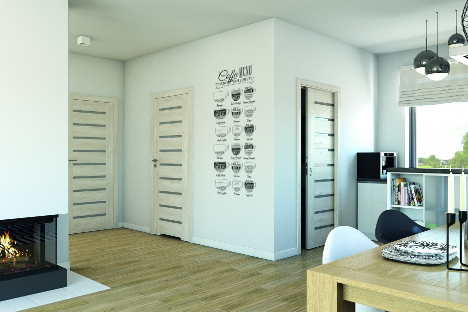 Styl skandynawski ceniony jest za swoją prostotę i funkcjonalność, nadaje się zarówno do dużych apartamentów, jak i mniejszych mieszkań. Fot. Porta