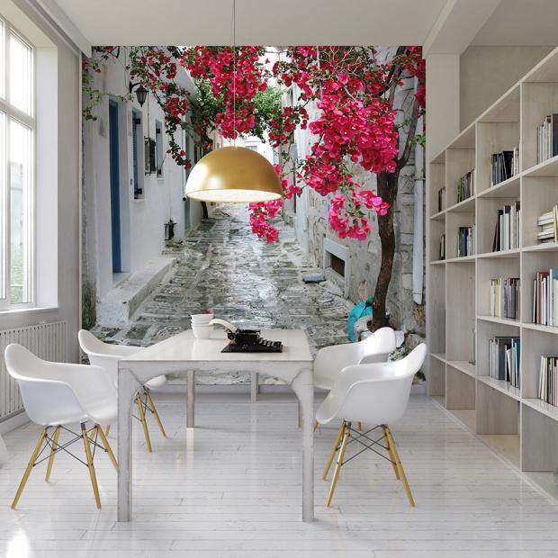 Kwiaty we wnętrzach: jakie motywy  się sprawdzą?