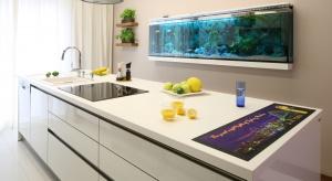 W nowoczesnej kuchni strefa zmywania nie musi być schowana pod ścianą. Możemy śmiało zaplanować ją na wyspie lub półwyspie kuchennym i cieszyć się związaną z tym wygodą.